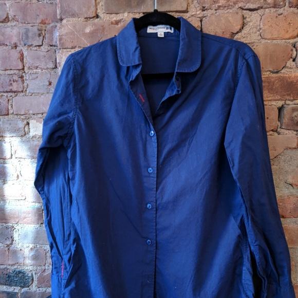 546e09da8dd3 Uniqlo Tops | French Style Light Cotton Shirt | Poshmark